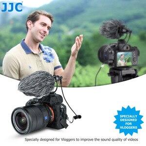 Image 2 - JJC Cardioid Microphone Cho Máy DSLR Máy Ảnh Không Gương Lật Video Máy Quay Phim Điện Thoại Máy Tính Bảng Đầu Ghi Micro Cho Vlogger Cuộc Phỏng Vấn