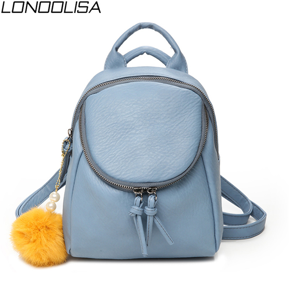 Fashion Multifunction Ladies Small Backpack Luxury Brand Women Back Pack Designer Soft Leather Mini Backpack Travel Bags 2020