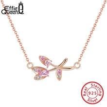 Женское Ожерелье из циркония effie queen s925 свадебные ювелирные