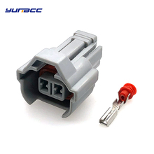 5 sets 2 Pin/way 2.0 mm Auto Waterproof cable connector Car Fuel Injector connectors plug 6189-0039 for Toyota Honda Nissan etc sample 2 sets 4 pin amp te 1 967402 1 auto sensor plug for car oil exploration railway etc waterproof ip67 69 round connector