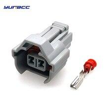 все цены на 5 sets 2 Pin/way 2.0 mm Auto Waterproof cable connector Car Fuel Injector connectors plug 6189-0039 for Toyota Honda Nissan etc онлайн