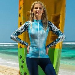 4 pçs/set das mulheres de manga longa proteção solar rashguard banho corpo atlético mergulho terno lycra wetsuit surf natação snorkeling
