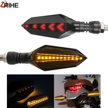 Motorcycle plastic LED Turn Signal Light Direction Waterproof Indicators Light FOR KAWASAKI z900 z1000 z800 Ninja ZX6R zx1400