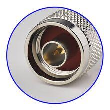 Superbat 10pcs RF Connector N Crimp Plug Male for Coaxial Cable RG174,RG178,RG316,LMR100