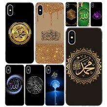 Árabe musulmán islámico cubierta de la caja del teléfono del patrón para IPhone 11 12 Mini Pro X 7 6X8 6S Plus XS MAX + XR 5S SE 10 diez arte TPU Coque Ca