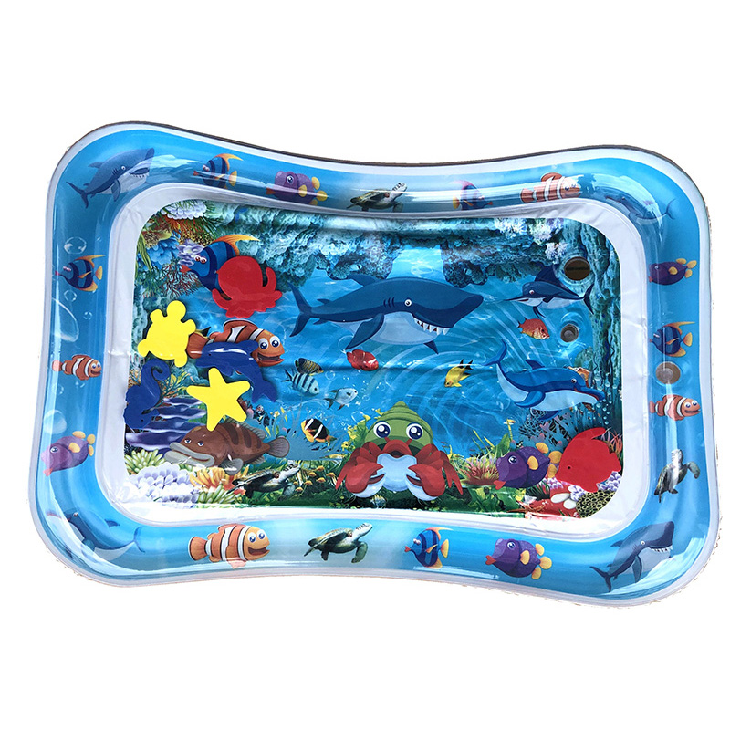 Kids Water Play Mat Toys For Baby Infant Inflatable Play Mat 0-12 Months Toddler Activity Toys Game Pad Water Pads Crawling Mats | Happy Baby Mama