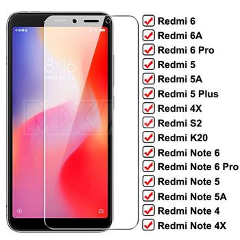 Szkło ochronne 9H dla Xiaomi Redmi 6 Pro 6A 5 Plus 5A S2 K20 szkło Redmi uwaga 6 5 5A 4X 4 Pro szkło hartowane tanie i dobre opinie MXARUA CN (pochodzenie) Folia na przód 4X Redmi Nocie Redmi Note 4 Redmi 5A Redmi Uwaga 5 Pro Redmi 5 Plus Redmi Note 5