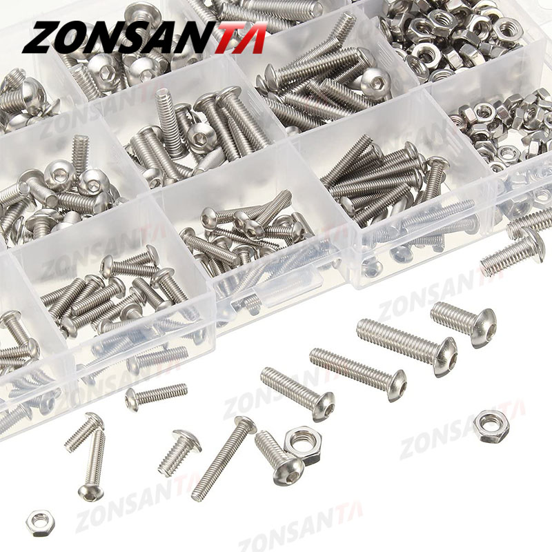 Hexagon socket machine screw set 2