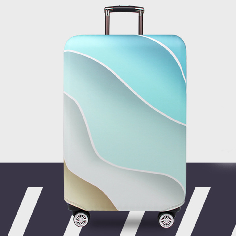 Polyester Suitcase Cover Dust Proof Double Stitched High Elasticity Anti Scratch Thick Accessories Universal Travel Durable