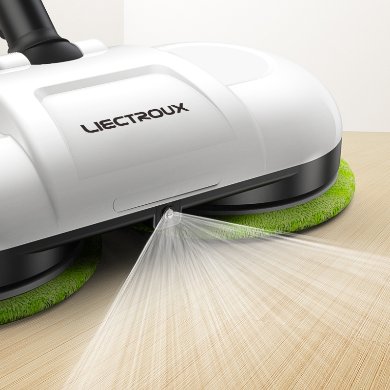 (FBA)LIECTROUX F528A Wireless Electric Mop with Waxing ,Wet Dry Cleaning ,Water Spay,Mopping Robot Non Vacuum Cleaner, LED Light-in Vacuum Cleaners from Home Appliances    2