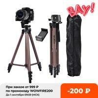 FOSOTO-trípode Profesional WT3130 de aluminio para cámara, soporte para Smartphone, DSLR