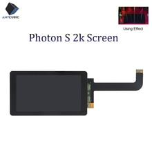 ANYCUBIC Photon S 2K LCD 광 경화 디스플레이 스크린 모듈 2560x1440