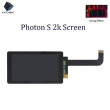 Anycúbico photon s 2k lcd luz de cura tela módulo 2560x1440