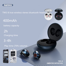 Nieuwe Remax Tws 8 Metal True Draadloze Stereo Bluetooth 5.0 Headset Met Microfoon Hd Oproep Muziek Sport Headset