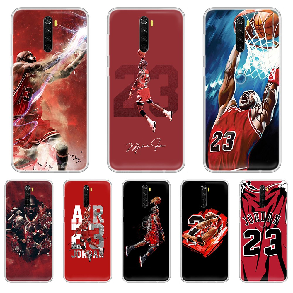 Michael basketball Jordan pretty prime Transparent Phone Case cover For XIAOMI Redmi Note 3 4 5 6 7 8 9 9s Pro max 8T 4X