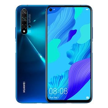 Перейти на Алиэкспресс и купить Huawei nova 5T 15,9 см (6,26 дюйм) 6 жестких GB 128 GB Жесткий GB SIM Dual blue 3750 mAh