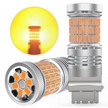 2X LED Canbus No Hyper Flash T25 P27W 3156 P21W LED Auto Turn Signal Light Led Bulb For Skoda Octavia 2 3 a5 a7 Kodiaq Rapid
