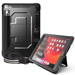 Business Case for iPad 10.2 inch 2019 2020 7th Gen/8th generation Shockproof Hard Cover with Pencil Cap