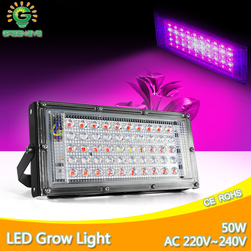 LED Grow Light 220V Plant Led Floodlight 2835SMD 5 W E27 Full Spectrum LED Grow Lamp For Hydroponics Flowers Plants Vegetab