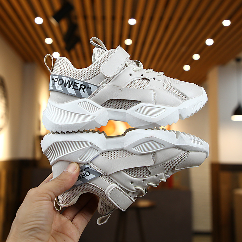 Children's Sports Shoes Fashion Trend Toddler Sneakers Girls Breathable Casual Shoes 2020 New Kids Designer Boy Brands Flats