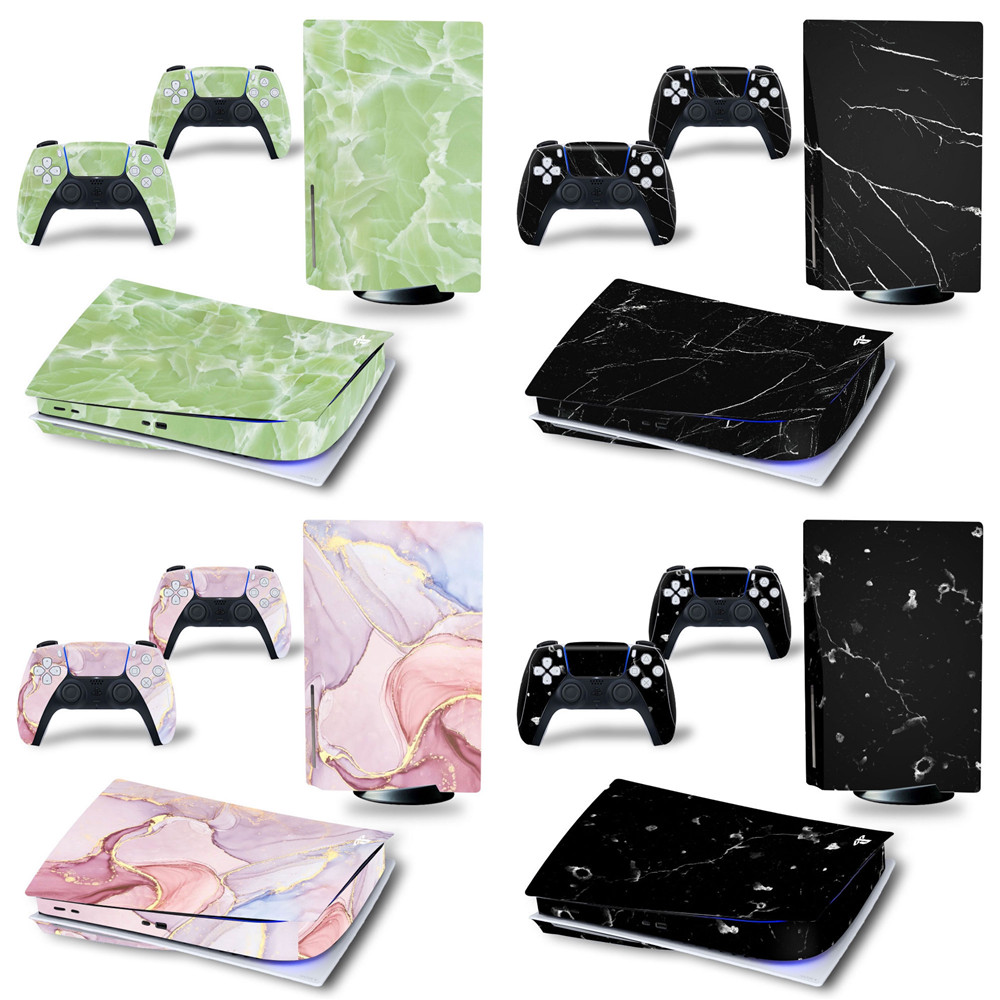 Decal Skin Vinyl Sticker For PS5 Disk Controller Playstation 5 Console Cover 1