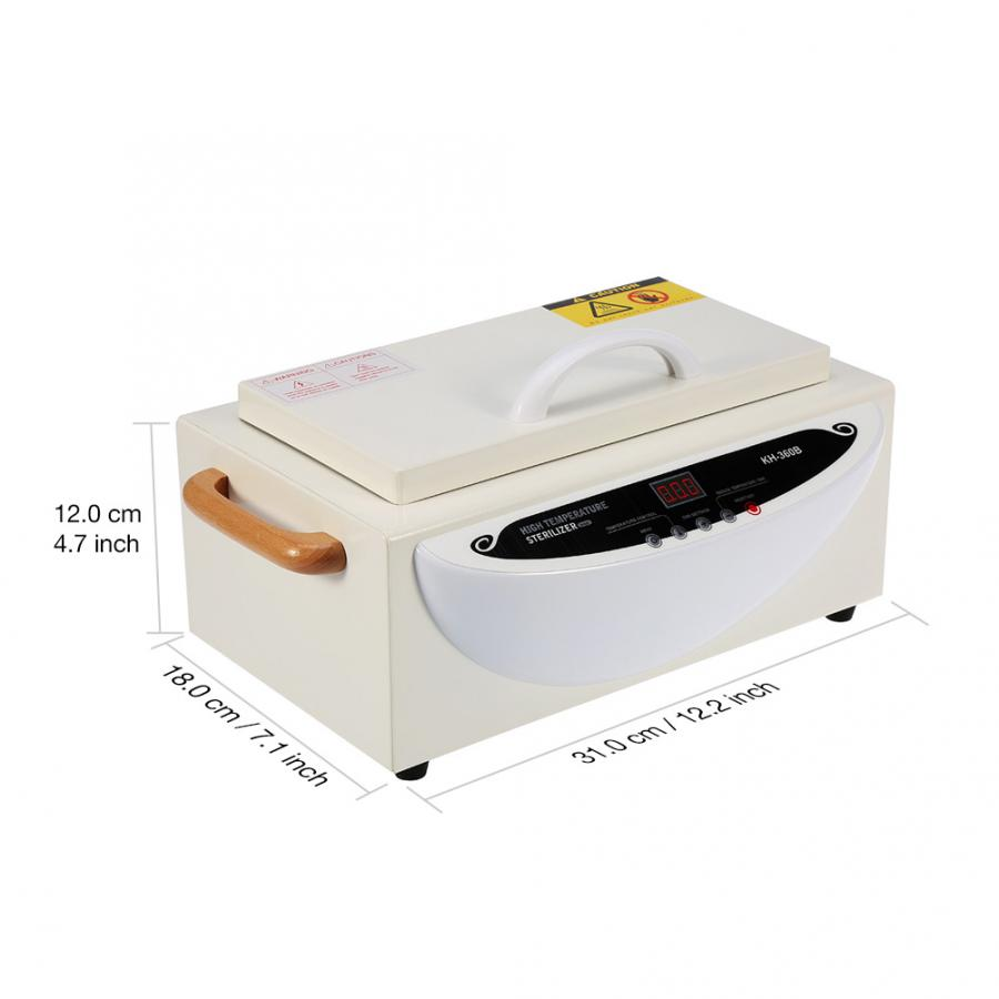 Image 4 - Manicure Vacuum Cleaner  75℃ to 250℃ Upgraded Smart High Temperature Sterilizer Towel Nail Dental Kit SE Nails Accessoires Tools-in Nail Art Equipment from Beauty & Health