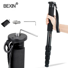 1560mm professionnel monopode dslr caméra bâton aluminium extensible trépied vidéo monopode pour Canon Nikon Sony DSLR appareil photo