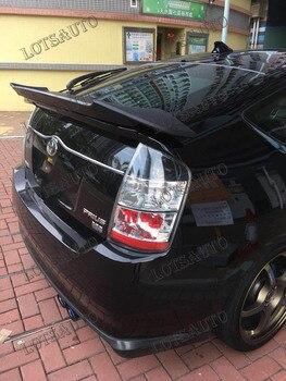 Alerones traseros de dos soportes de estilo de coche prius, de carbono y color negro/blanco, aptos para alerones delanteros estilo Toyota Prius ROWEN
