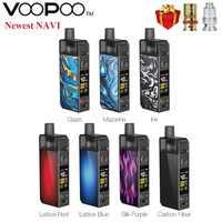 Original VOOPOO NAVI Pod Kit 1500mah Batterie & 3,8 ml Pod & 0,6 ohm RBA Spule 0,8 ohm PnP mesh Spule Vape Pod Kit VS VINCI/VINCI X
