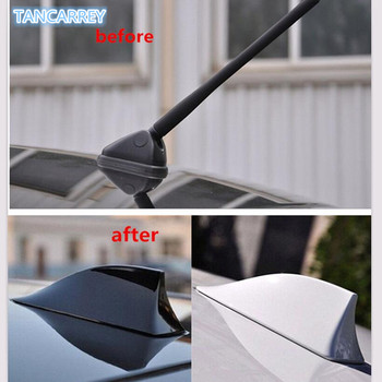 Upgraded Car Shark Fin Antenna Auto Roof FM/AM Radio Aerial FOR golf 7 audi a4 b7 peugeot 207 peugeot 407 ford focus mk2 image