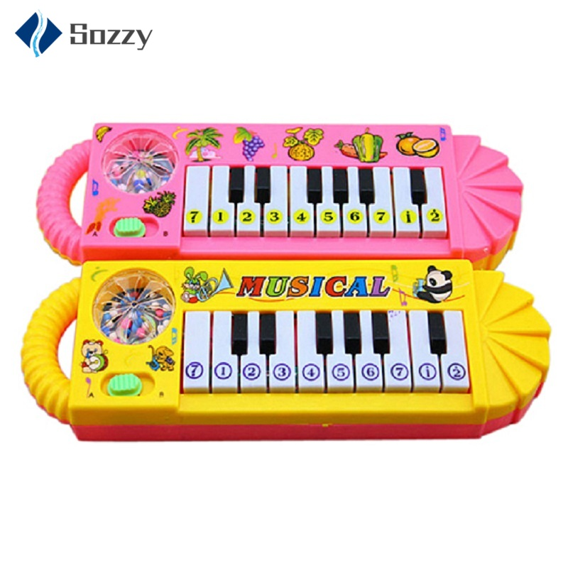 Baby Kids Musical Educational Animal Farm Piano Developmental Music Toy Wonderful Fun Toy Gift For Children