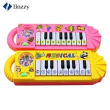 Baby Kids Musical Educational Animal Farm Piano Developmental Music Toy Wonderful Fun Toy Gift For Children(China)