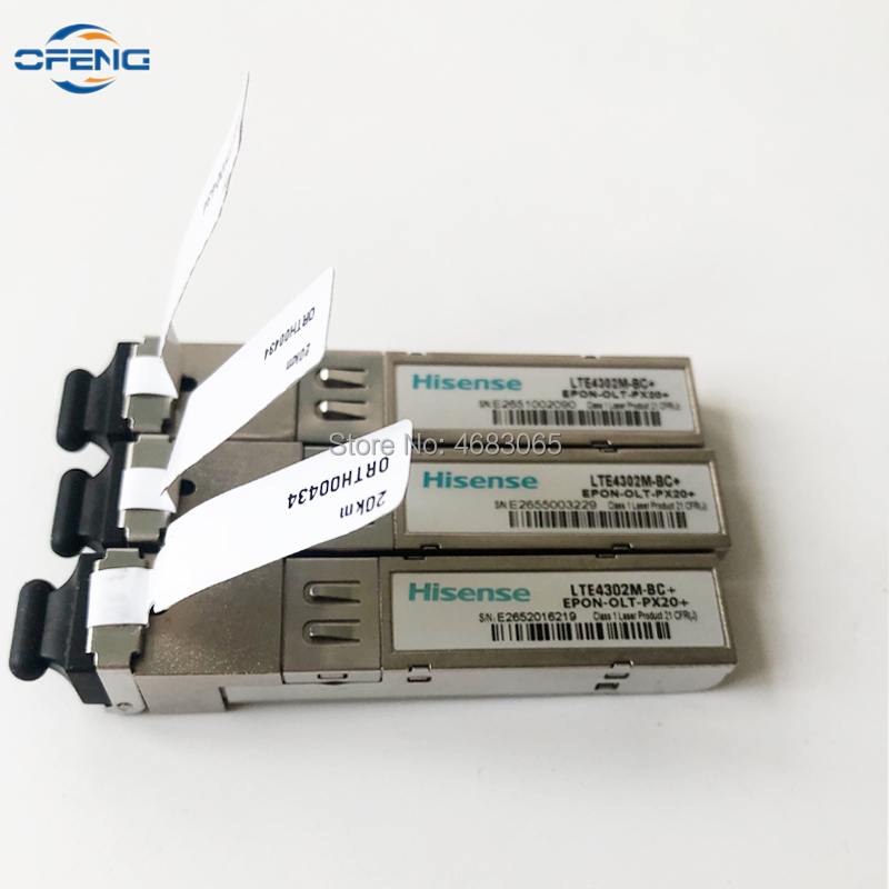 Free Shipping Hisense SFP Module For Hua Wei And ZTE EPON OLT, LTE4302M-BC+ EPON-OLT-PX20+