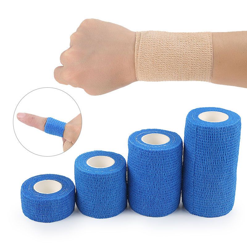 Sports Elastoplast Self-Adhesive Tape Self Adhesive Non Woven Bandage Athletic Tape Medical Stretch Wrap Ankle Tape For Wrist