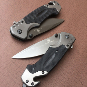 Image 5 - 440c Tactical Folding Knife Pocket Outdoor Survival Hunting Camping Quick Open G10 Stainless Blade Knifes Knives