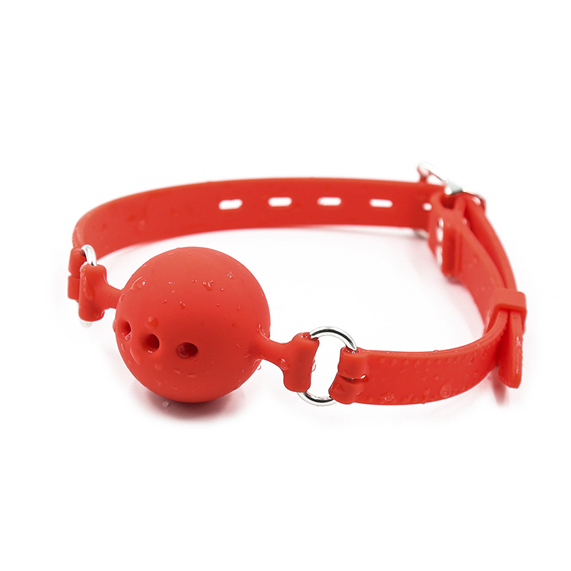 VRDIOS 3 Sizes Soft Silicone Open Mouth Ball Gag Sex toys for Women Bdsm Sex Bondage