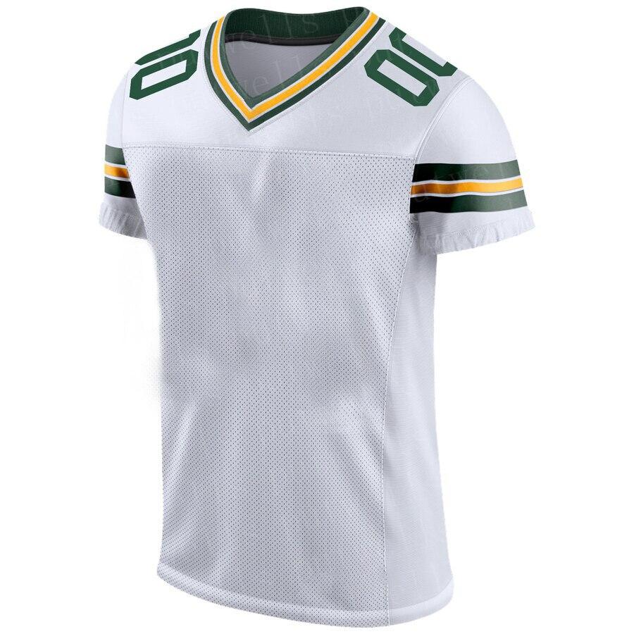 Men Color American Football Green Bay Sport Fans Wear Blake Martinez Za'Darius Smith Aaron Jones Aire Alexander Bakhtiari Jersey