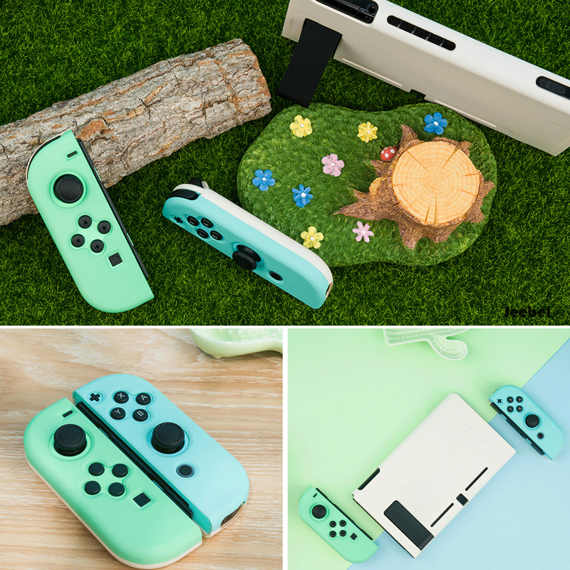 Image 5 - For Nintendo Switch Case Joy Con Controller Full Cover Shell Colorful Pink Hard Housing Shell For NintendoSwitch Game ConsoleCases   -