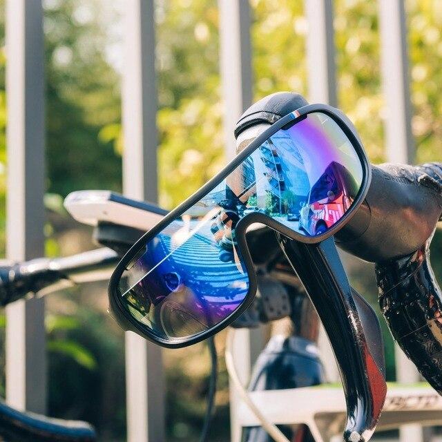E poc novo estilo ciclismo esportes ao ar livre óculos 4 lente óculos de bicicleta de escalada de montanha óculos de proteção para os olhos 4