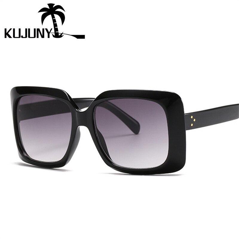 Kujuny женские солнцезащитные очки для мужчин 2020 модные Мужские