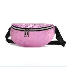 Women Laser Waist Packs New Bag Fanny Pack Zipper Chest Travel Bum Waterproof