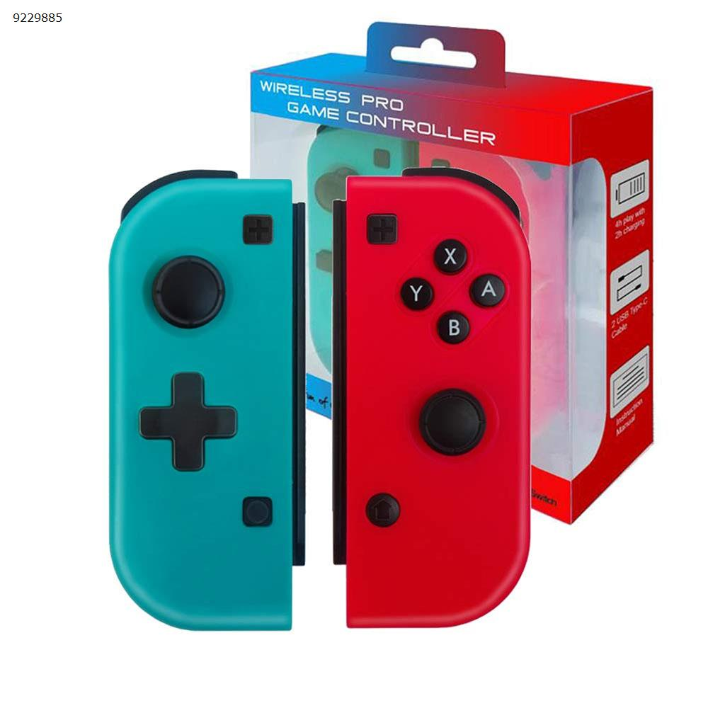 wireless Bluetooth game handle for Switch Console-built gyroscope+vibration motor+color case+one-key connection Console