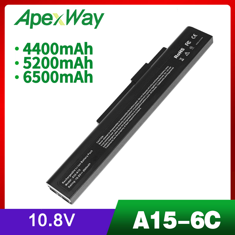 Laptop <font><b>Battery</b></font> For MSI A6400 CR640 CR640MX CR640X CX640 CX640X Q2532N <font><b>DNS</b></font> 142750 153734 157296 A32-A15 A41-A15 A42-A15 A42-H36 image