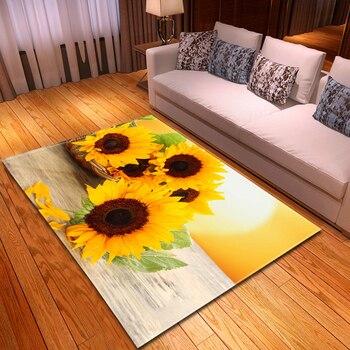 Modern Carpets for Living Room  3D Pattern Nonslip Large Rug  Kids Room  Carpet Bedroom Decoration  Bedside Mats