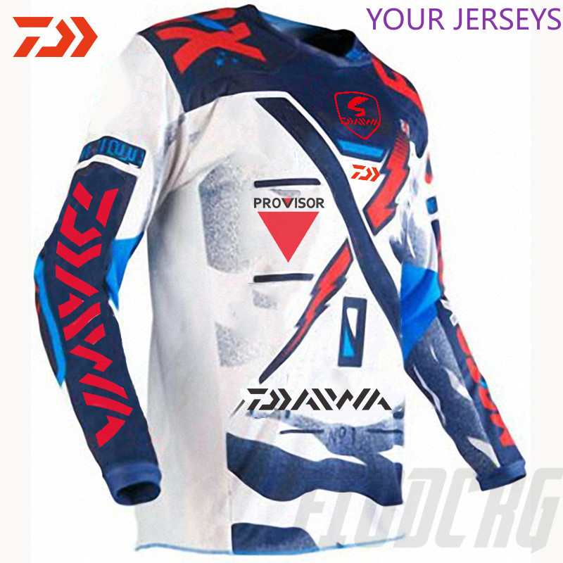 DAIWA 2020 Fishing Clothing Summer Short Sleeve Deep Sea Sunscreen Breathable Clothes Anti-UV Ultrathin Shirt Pesca DAIWA Pesca