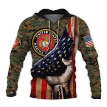 Tessffel Америки морской камуфляж череп солдата армии костюм NewFashion пуловер сайту 3dprint унисекс на молнии/толстовки/кофты/куртки-14