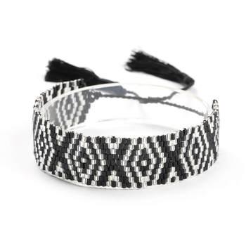 Bracelet Tisse En Perle