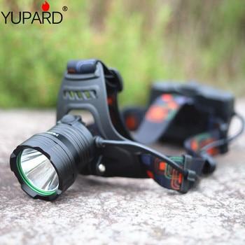 XHP50.2 LED strong headlight USB charging super bright head-mounted searchlight miner long shot fishing light +3 * 18650 battery