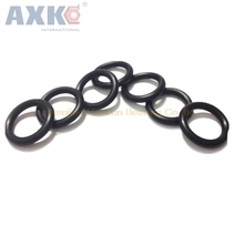 AXK 200pcs 2mm Thickness O-ring Seals Gasket NBR 26/27/28/29/30/31/32/33/34/35/36mm OD Black Rubber O Rings Seals Gasket Washer