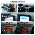 Автомобильный GPS навигатор без DVD мультимедиа для Opel Astra H 2006-2012 стерео 2 DIN радио головное устройство Android 8 1 В тире аудио